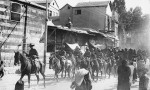 Harry Chauvel leads the Light Horse into Damascus Nov 1918