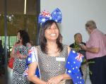 An Australian citizenship ceremony in Esk, Qld on Australia Day 2014 (photo Derek Barry)