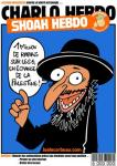 A Charlie Hebdo cover from 2011 equates the Holocaust with Israeli treatment of Palestinians.