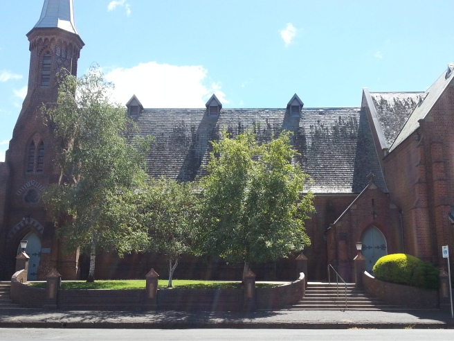 St Joseph's Catholic Church, Orange where Dalton was a prominent member. One of his houses was just across the road.