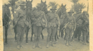 Members of the Australian Light Horse in the Sinai Desert 1916.