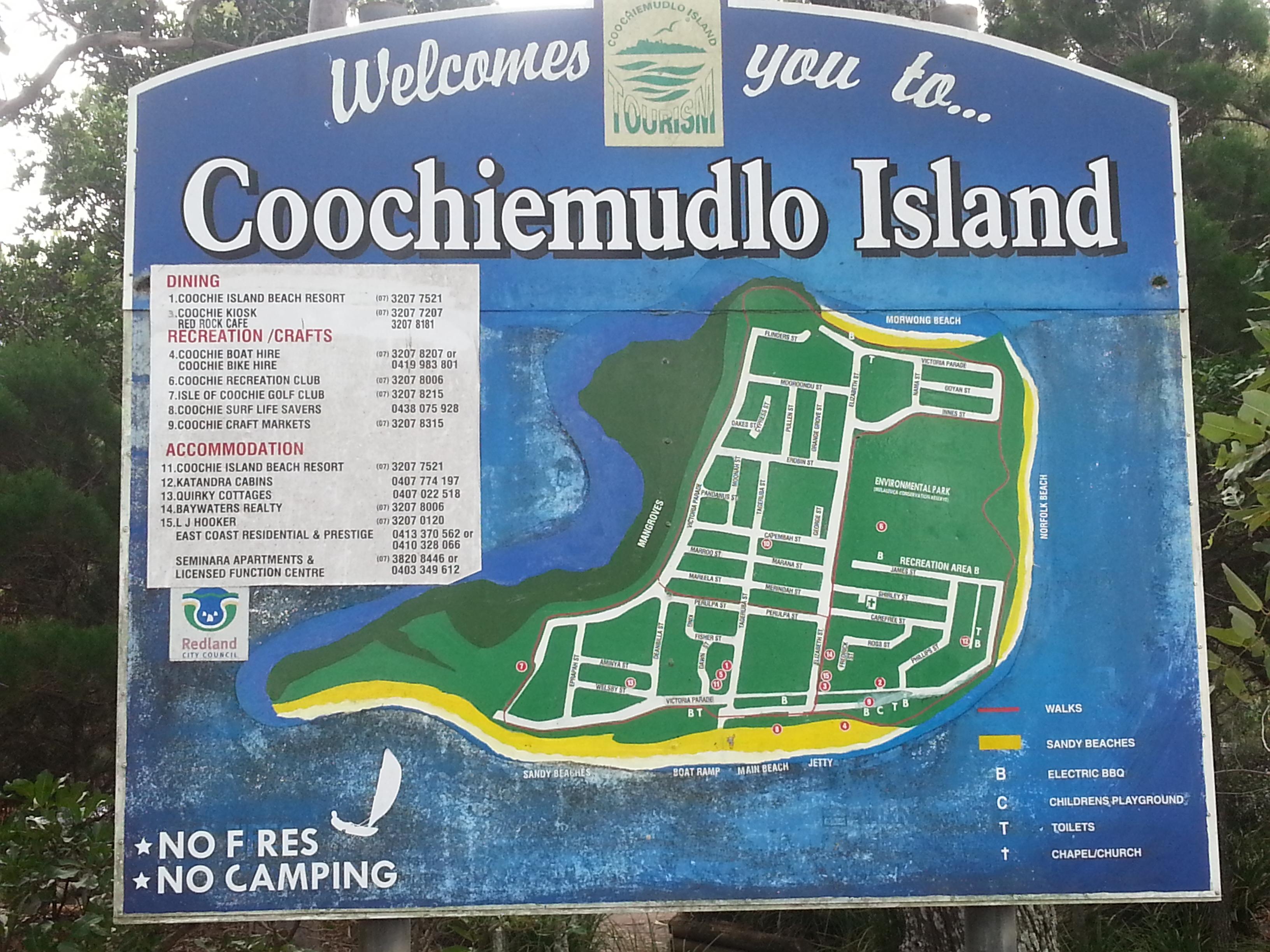 Coochiemudlo Island Ferry Parking