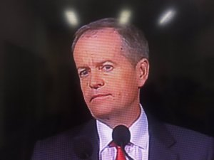 Bill Shorten speaks on TV tonight.